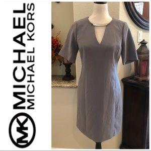Michael Kors Gunmetal Dress